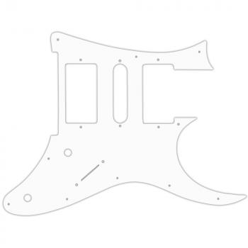 USA CUSTOM PICKGUARD for IBANEZ® RG 2009 RG350DX® - 3 Ply PG WHITE WBW