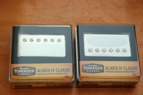 TONERIDER AC4 Nickel SET mit NECK & BRIDGE AC4N + AC4B