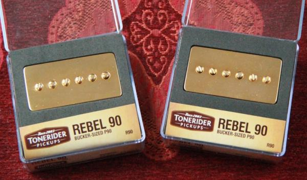 TONERIDER REBEL R90 Gold SET mit NECK & BRIDGE R90SET-GD