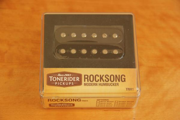TONERIDER TRH1 F-SPACED ROCKSONG BRIDGE OPEN BLACK TRH1B-F