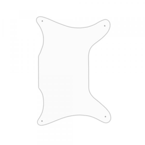 USA CUSTOM PICKGUARD für EPIPHONE® 1962-1969 CORONET® - 3 Ply PG WHITE WBW