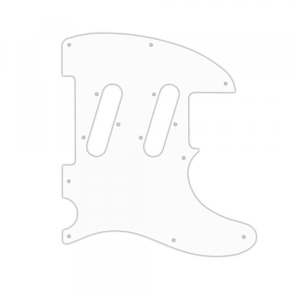USA CUSTOM PICKGUARD for FENDER® CLASSIC PLAYER TRIPLE TELECASTER® - 3 Ply WHITE WBW